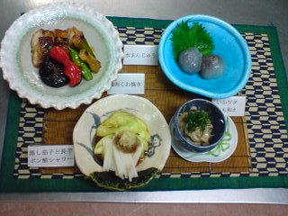 昨日は和風料理