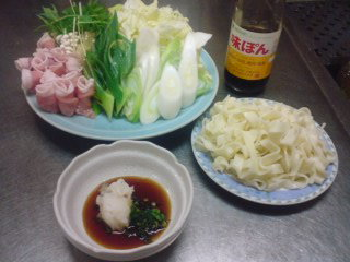 昨日は和風料理でした