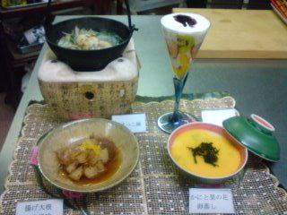 和風料理です