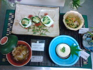 今日は和風料理でした