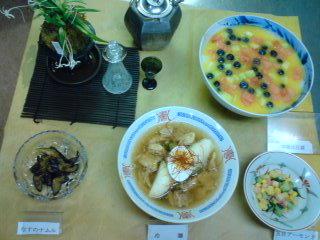 昨日は中国・韓国料理でした