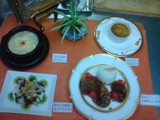 今年初料理教室