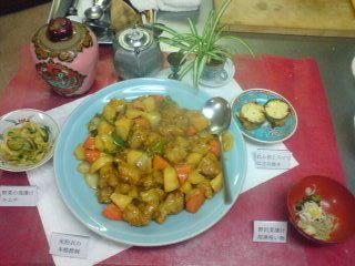昨日は中国料理でした
