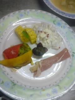 昨日は洋風料理でした