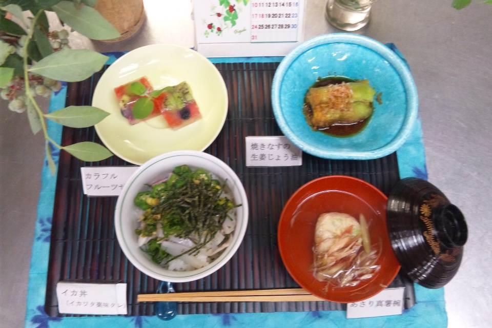 和風料理〜イカ丼