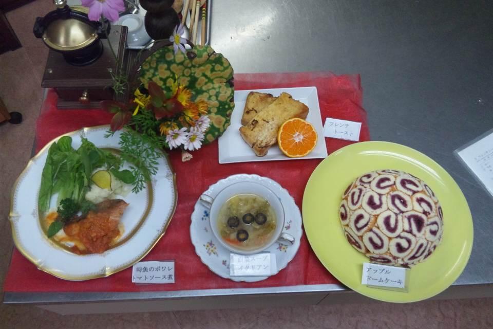 洋風料理〜時魚のポワレトマトソース